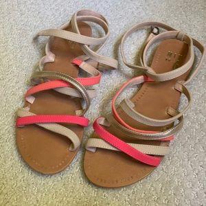 Mix No.6 strapping sandal size 8 women's